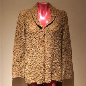 Free people sweater coat cape too shirt blouse